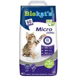 biokats-micro-classic-kattengrit