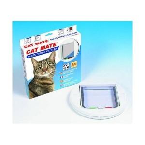 cat-mate-210-kattenluik-wit-glasdunne-deuren