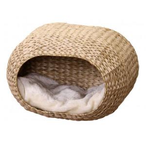 ebi-radiator-bed-sunrise-waterhyacinth-beige-voor-katten