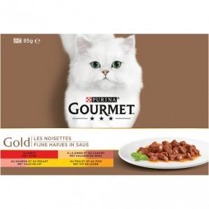 gourmet-gold-12-pack-fijne-hapjes-in-saus-kattenvoer