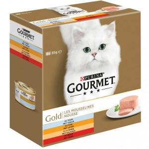 gourmet-gold-8-pack-mousse-tonijnleverkalkoenrund-kattenvoer