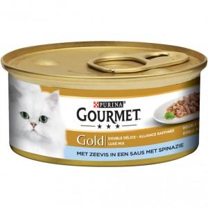 gourmet-gold-met-zeevis-in-een-saus-met-spinazie-kattenvoer