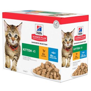 hill-s-pouch-kitten-classic-selection-kattenvoer