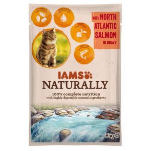 iams-naturally-adult-zalm-in-saus-85-gram-zakjes-kattenvoer
