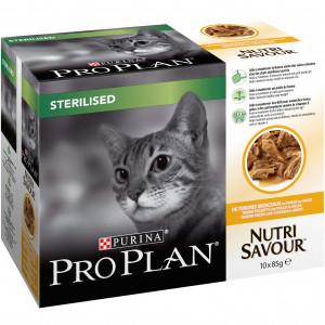 pro-plan-sterilised-kip-85-gram-zakjes-kattenvoer