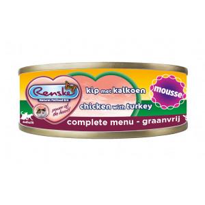 renske-kat-vers-kip-kalkoen-mousse-100-gram