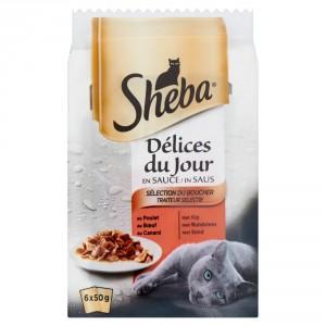 sheba-delices-du-jour-traiteur-selectie-in-saus