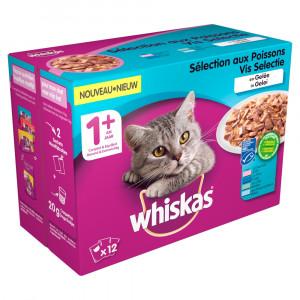 whiskas-1-vis-in-gelei-pouches-multipack-12-x-100g