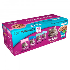 whiskas-1-vis-selectie-in-gelei-pouches-multipack-40-x-100g