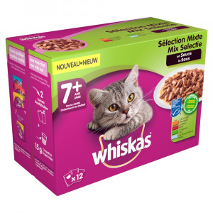 whiskas-7-mix-in-saus-pouches-multipack-12-x-100g