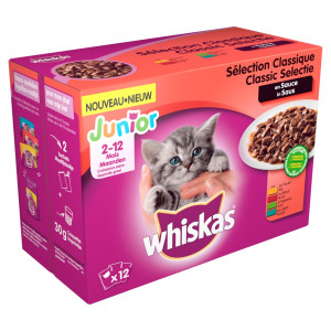whiskas-junior-classic-in-saus-pouches-multipack-12-x-100g